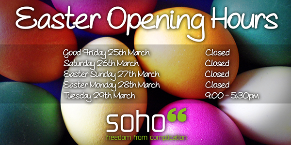Soho66 Easter Opening Times